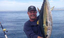 Yellowfin 5 Miles Off San Clemente Pier
