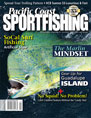 august cover of PC Sportfishing Mag
